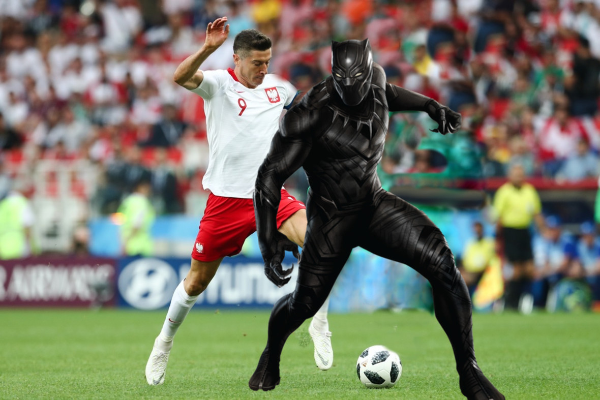 Polska - Senegal, Black Panther