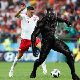 Polska - Senegal, Black Panther
