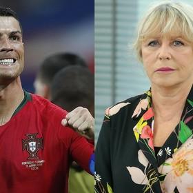 Ronaldo i Krystyna Janda