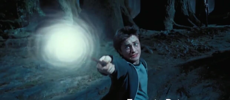 """Naucz się zaklęć z """"Harry'ego Pottera"""""""