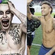 Neymar przebrał się za Jokera na Halloween