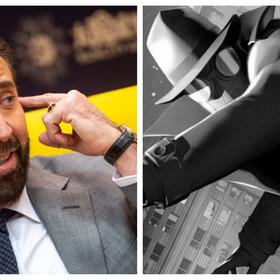 Nicolas Cage, kadr z filmu Spider-Man: Uniwersum