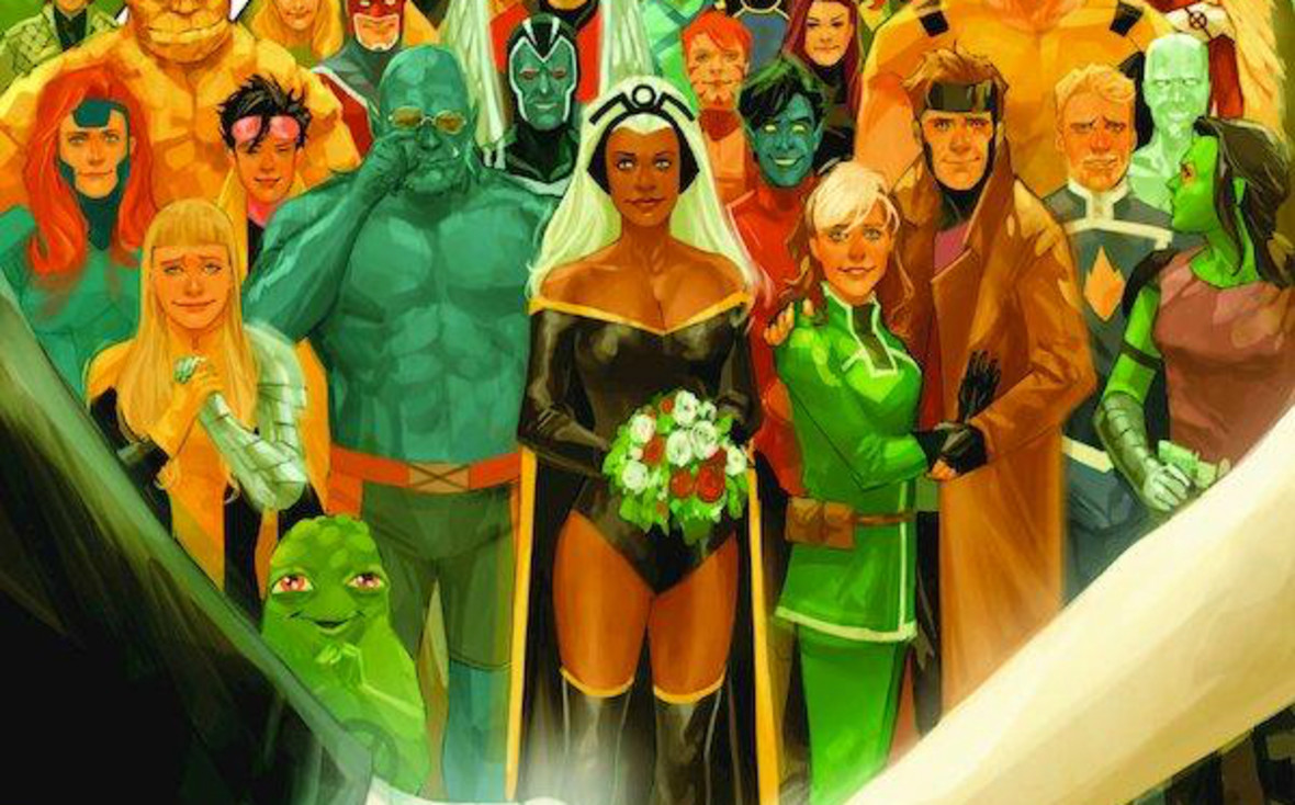 Niespodziewany zwrot akcji podczas ślubu Kitty Pryde i Colossusa. Co wydarzy się w czasie ceremonii?