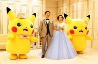 Pokemony jako świadkowie na ślubie