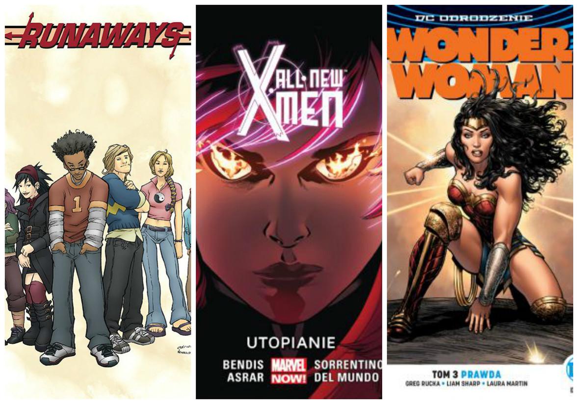 Nowe polskie wydania komiksów Marvela i DC. Jakie tytuły pojawiły się w ofercie wydawnictwa Egmont?