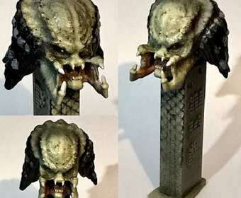 Obcy i Predator jako dozowniki do cukierków