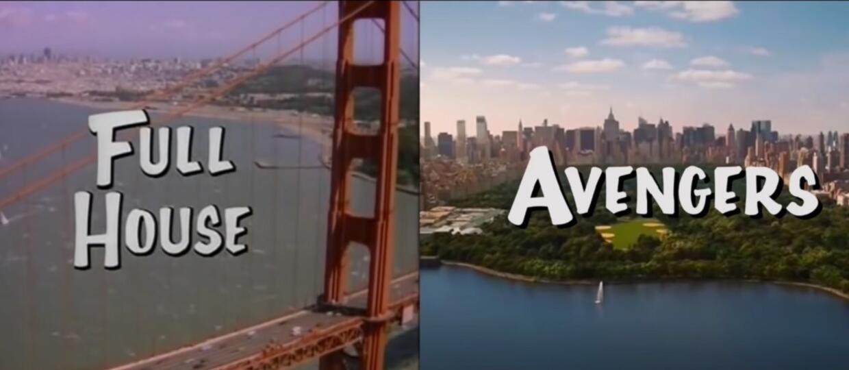 Pełna chata Avengersów