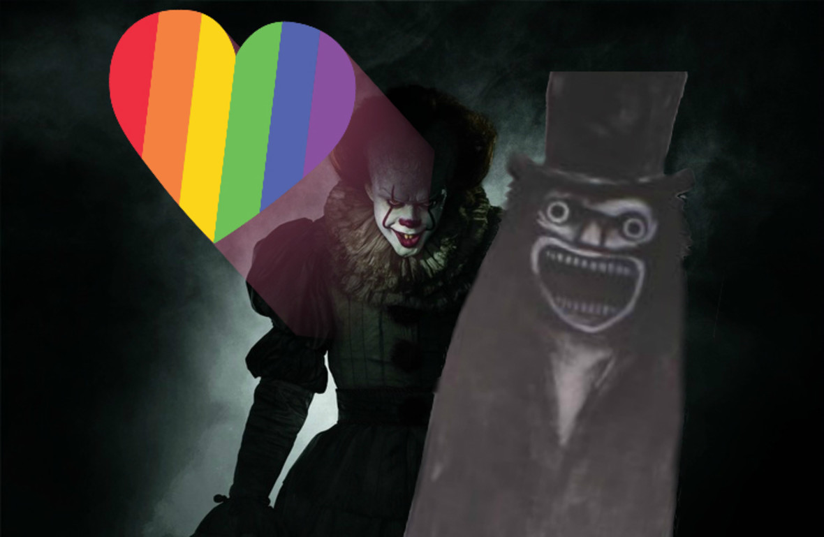 """Pennywise został chłopakiem Babadooka. Jak klaun z """"Tego"""" stał się ikoną LGBT?"""