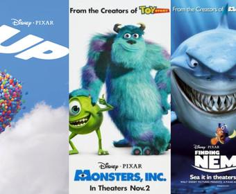 Filmy animowane Pixara