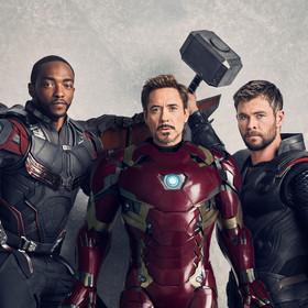 Falcon, Iron Man, Thor
