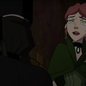 "Poison Ivy spotyka Kubę Rozpruwacza we fragmencie filmu ""Batman: Gotham By Gaslight"""