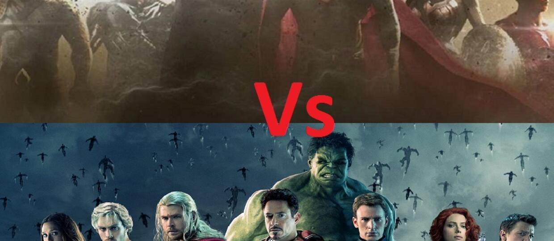 Pojedynek bohaterów Marvela i DC Comics
