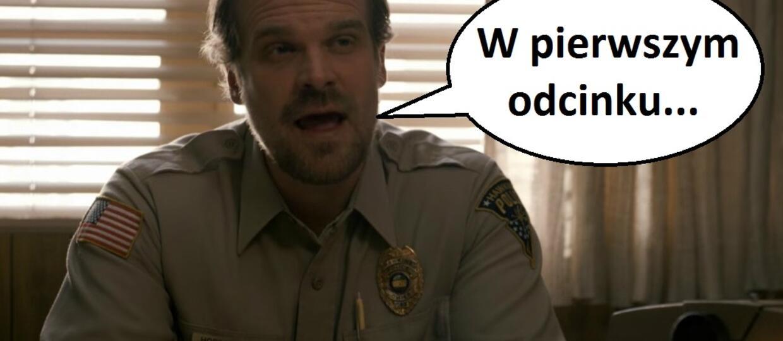"""Policja straszyła przestępców spoilerami """"Stranger Things"""" 2"""