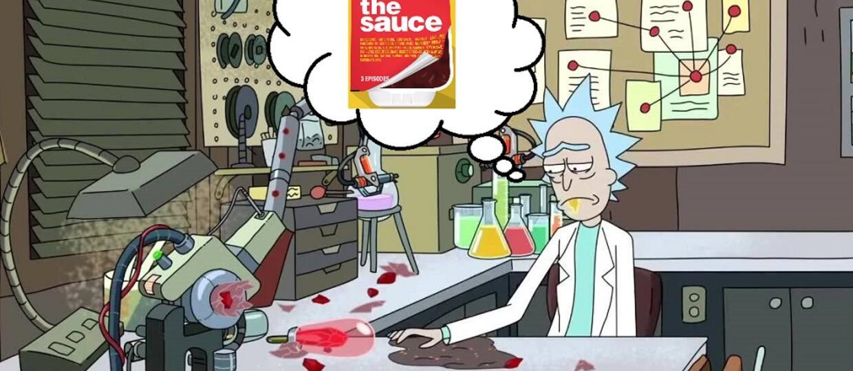 Kadr z serialu Rick i Morty