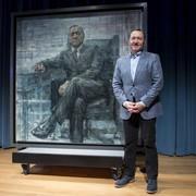 Portret Franka Underwooda zawisł w muzeum