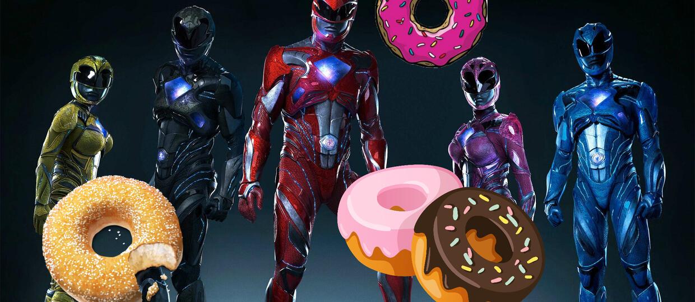 Power Rangers z własnymi donatami