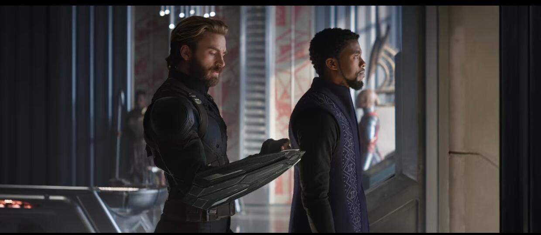Kapitan Ameryka i Czarna Pantera