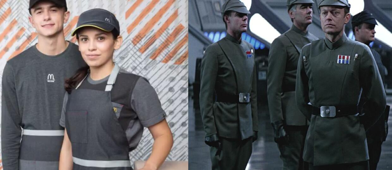 """Pracownicy McDonald's to członkowie Imperium z """"Gwiezdnych wojen""""?"""