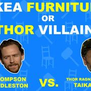 """Przeciwnik Thora czy mebel z IKEI? Twórcy """"Ragnarok"""" w absurdalnym quizie"""