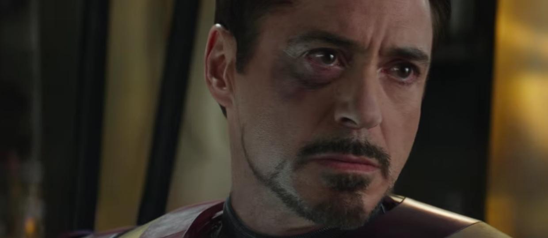 Robert Downey Jr. jako Iron Man (Kapitan Ameryka: Wojna Bohaterów)