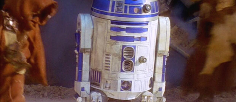 R2-D2 przemówił ludzkim głosem