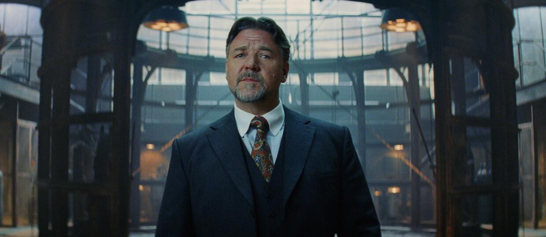 """Russell Crowe zbudował replikę swojego pubu na planie """"Mumii"""""""