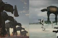"""Scena bitwy z """"Ostatnich Jedi"""" została ściągnięta z """"Łotra Jeden""""?"""