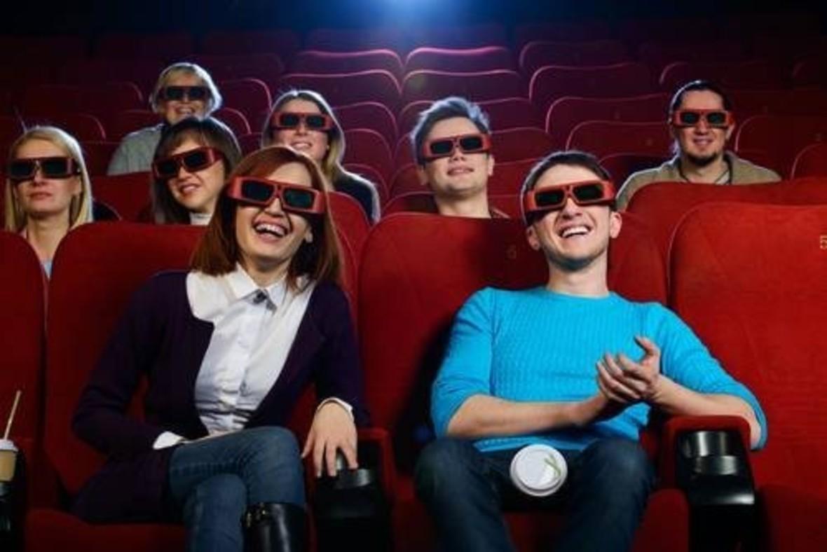 Ludzie w kinie 3D