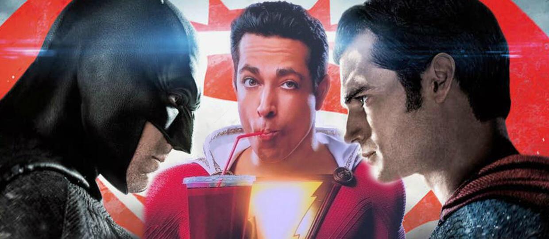 Batman v Superman, Shazam