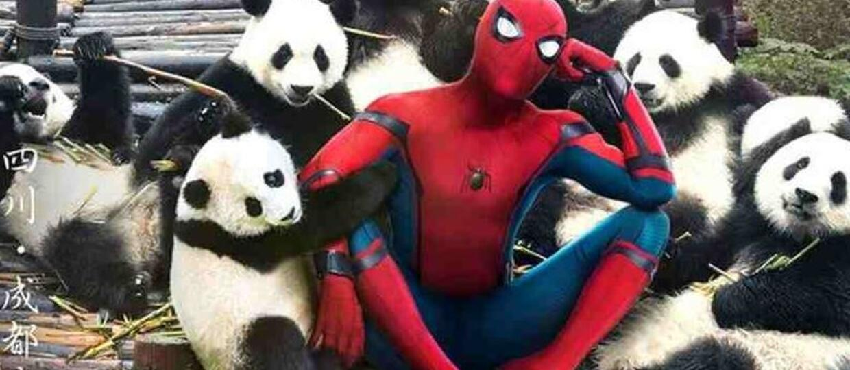 Spider-Man Homecoming chiny