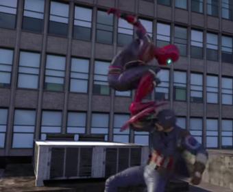 Spider-Man kontra Avengers. Zobacz fanowski film animowany