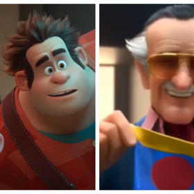 Ralph Demolka w internecie i Stan Lee w Big Hero 6