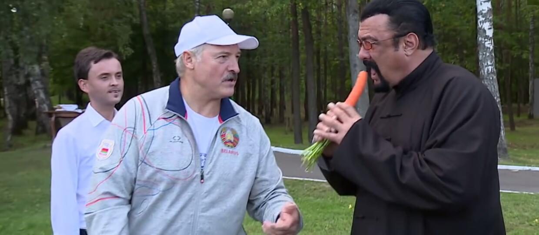 Steven Seagal gościem prezydenta Łukaszenki