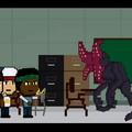"""""""Stranger Things"""" jako 8-bitowa gra"""