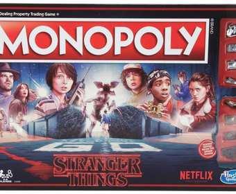 """""""Stranger Things"""" jako klasyczne gry planszowe"""