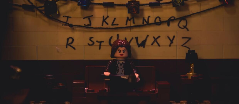 """""""Stranger Things"""" z klocków LEGO"""