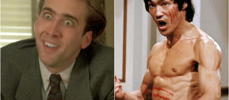 Tajemnica min Nicolasa Cage'a wyjaśniona! Jego inspiracją był Bruce Lee