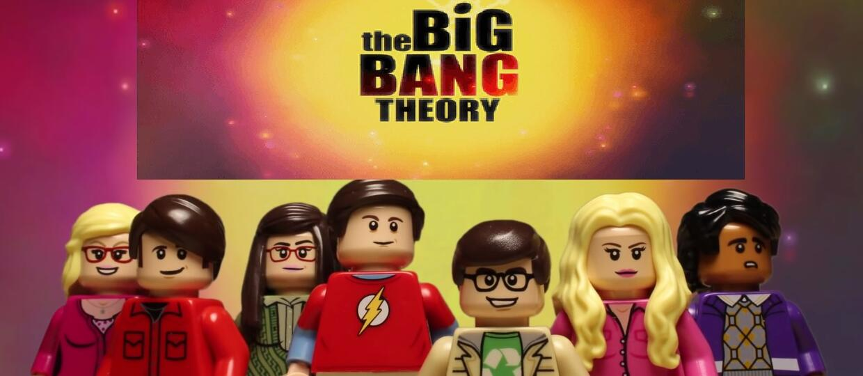 """""""Teoria wielkiego podrywu"""" z klocków LEGO"""