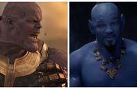 Thanos (Avengers: Infinity War) i Dżin (Aladyn)