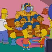 """Thanos odwiedził """"Simpsonów"""" i zabił połowę Springfield"""