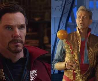 Thor Ragnarok Dr Strange i Grandmaster