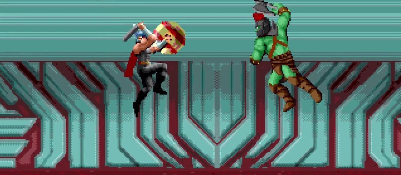 """""""Thor: Ragnarok"""" w zwiastunie w 8-bitowej wersji"""