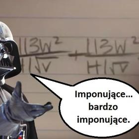 """To usłyszy tylko prawdziwy fan """"Star Wars"""". """"Marsz Imperialny"""" zagrany ołówkiem podczas pisania równań"""