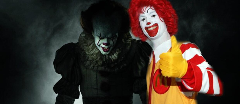Pennywise, Ronald McDonald