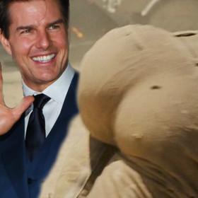 """Tom Cruise miał sztuczny tyłek w filmie """"Walkiria""""? Aktor odpowiada"""