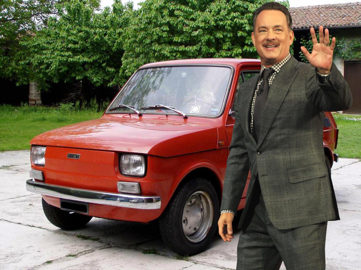 Tom Hanks sprawił sobie Malucha
