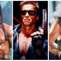 Rambo, Terminator, Szklana pułapka