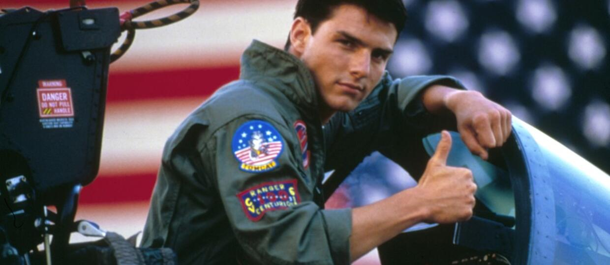"""Tom Cruise w filmie """"Top Gun"""", Foto: Collection Christophel / RnB/EAST NEWS"""