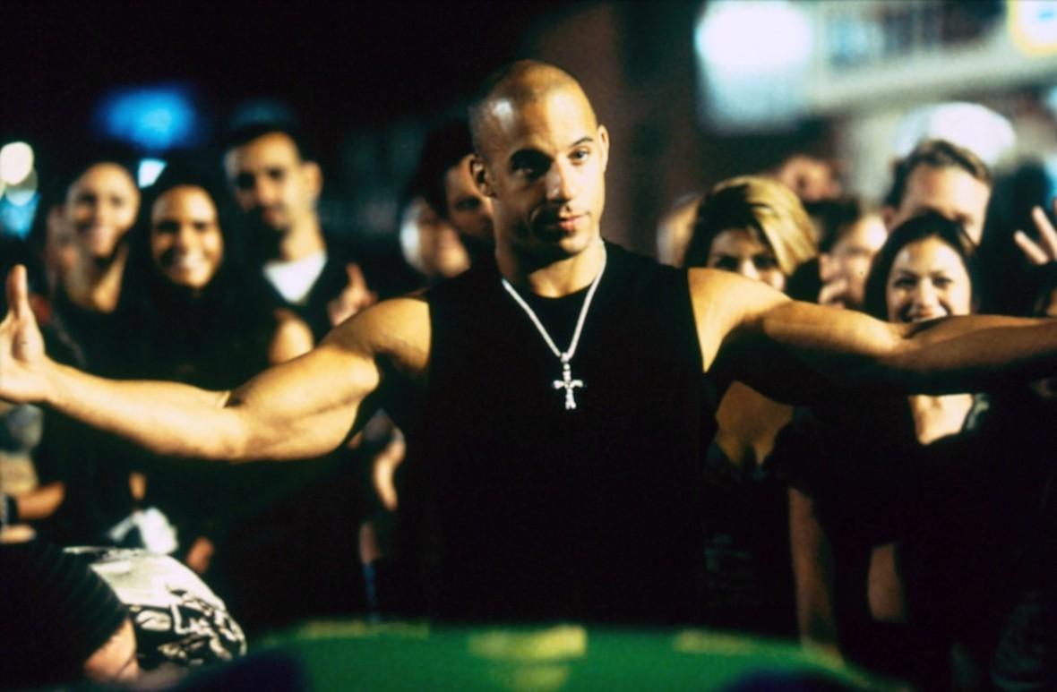 """Vin Diesel jako Dominic Torreto w filmie """"Szybcy i wściekli"""", Foto: COLLECTION CHRISTOPHEL/EAST NEWS"""