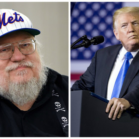 """Twórca """"Gry o tron"""" porównał Donalda Trumpa do jednej z postaci z Westeros"""